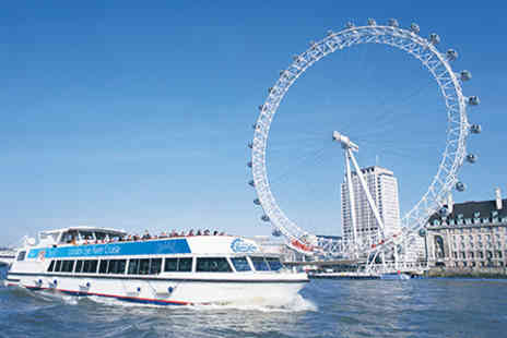The London Eye River Cruise  - Visit to Coca Cola London Eye for Two Adults - Save 0%