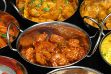 Spice Room - An Indian Seafood & Meat Banquet for 2 including 4 starters, 4 mains & Bengali tea - Save 56%