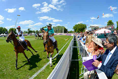 The Hurlingham - Chestertons Polo in the Park and Afternoon Tea for Two on  Sunday 5 June 2016  - Save 0%