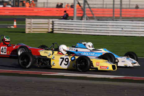 Silverstone - Historic Sports Car Club Championship with VIP Hospitality Suite  Refreshments and Pit and Paddock Access on Saturday 21 May 2016 - Save 0%