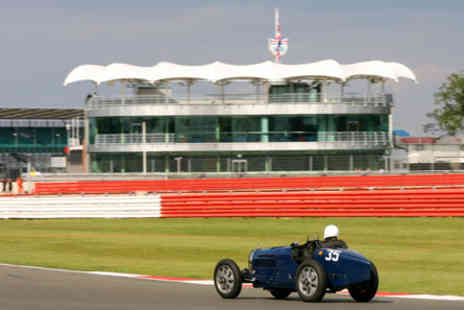 Silverstone - Vintage Sport Car Club VIP Hospitality suite  Refreshments and Paddock Access on Saturday 23 April 2016 - Save 0%