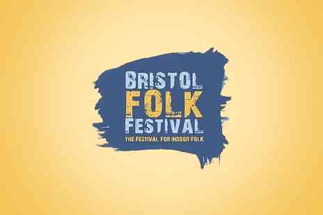 Alchemy Promotions - Weekend Ticket to Bristol Folk Festival on 30th April to 1 May  - Save 0%