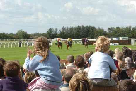 Huntingdon Racecourse - Mothers Day Racing Pass for Two Adults and Four Children On 6 March - Save 40%
