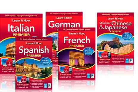 Avanquest - Learn It Now Languages Software - Save 61%