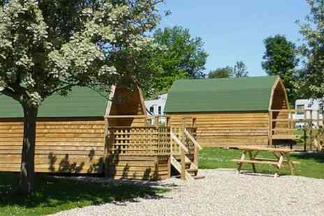 St Helens in the Park -  Two Night Self Catering Camping Pod Stay For Up To Four  - Save 0%