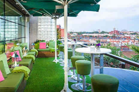 The Roof Gardens - Babylon Restaurant Three Course Lunch and Wine for Two - Save 0%