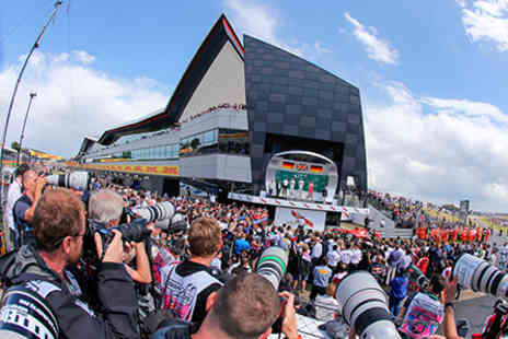 Silverstone - 2016 Formula 1 British Grand Prix Three Day General Admission Ticket for One - Save 0%