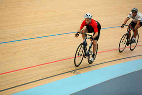 Lee Valley Velo Park - Velodrome Cycling Experience with GB Gold Medalist  -  Save 0%