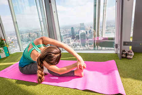 Yogasphere   - Yoga with Yogasphere at the Top of The Shard  - Save 0%