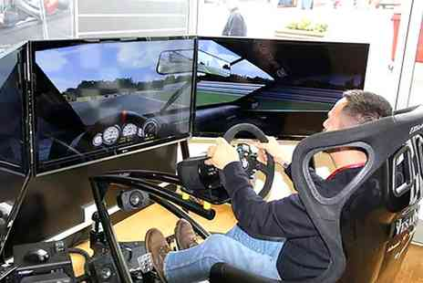 RACE HUB - 30Minute Brands Hatch Driving Simulator Experience for One, Three or Six  - Save 0%