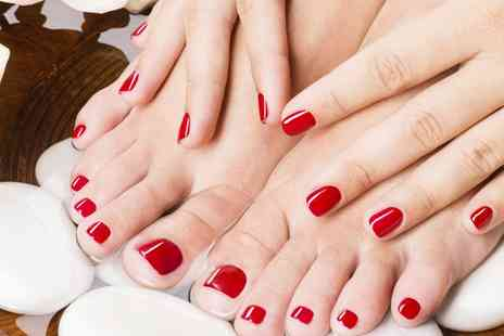 Nail Creations Beauty Beautique - OPI Mini Manicure, Mini Pedicure or Both - Save 38%