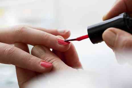 St Georges Hair and Beauty  - Manicure, Pedicure or Both  - Save 56%