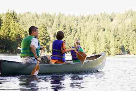 Kayakhub Exeter - Half Day Canoe Hire for Two or a Family of Four  - Save 0%