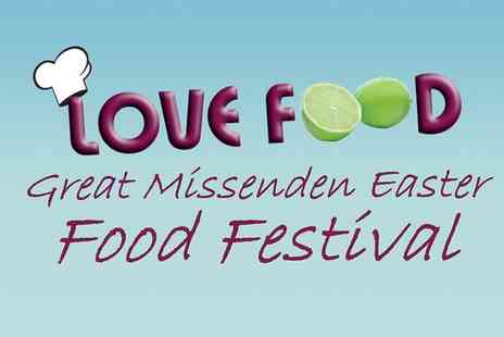 Great Missenden Food Festival - Great Missenden Food Festival 2016 Two Adult Day Tickets on 25 to 28 March - Save 0%