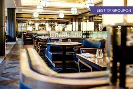 Searcys St Pancras Grand - Two Course Dinner with Champagne Tasting Experience for One, Two or Four   - Save 0%