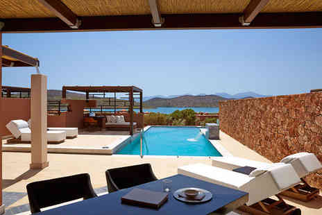 Domes of Elounda  - Seven nights stay in a Two Bedroom Villa with Heated Private Pool - Save 26%