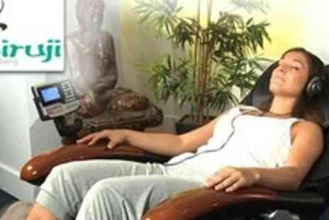 Miruji - Massage Chair Treatment, Foot Massage, and 30 Minutes on Artificial Beach - Save 84%