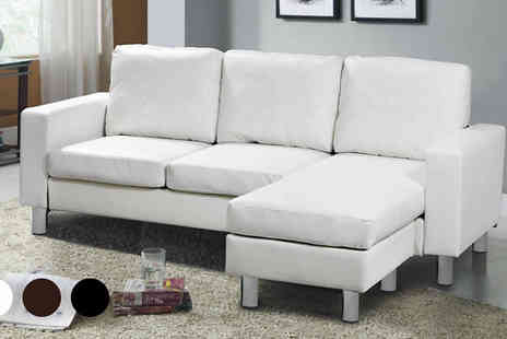 AP Furnitures - L Shaped Sofa Choose Three  Colours - Save 60%
