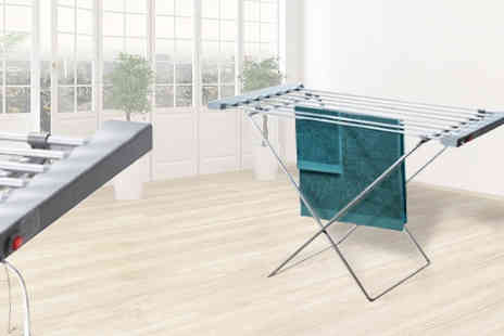 Mooch - Heated Clothes Airer - Save 74%