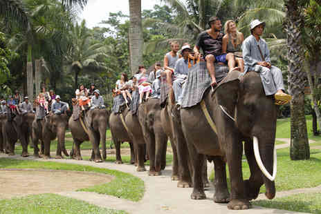 THG Holidays - Ten nights Bali break including flights, Elephant safari & bathing experience, tours, transfers, meals  - Save 0%