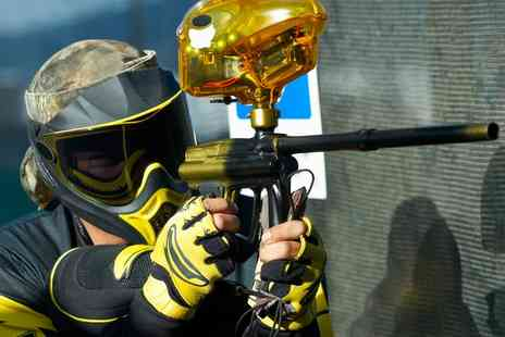 Hereford Paintball - Paintball Day for Five, 10 or 15 People with 100 Paintballs for Each - Save 0%