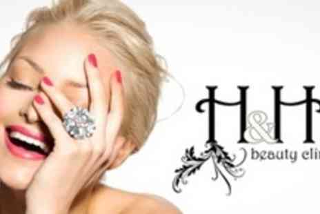 H and H Beauty Clinic - Classic Manicure and Full Set of Gelish Overlays - Save 60%