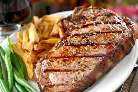 Murphys Town Hall Tavern - Steak, Sides and Wine for Two or Four - Save 0%