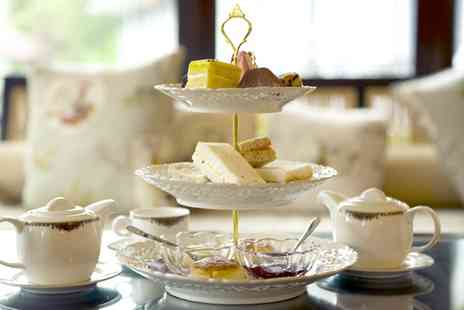 Cobbled Corner - Afternoon Tea with Raspberry Bellini or Prosecco for Two or Four - Save 0%