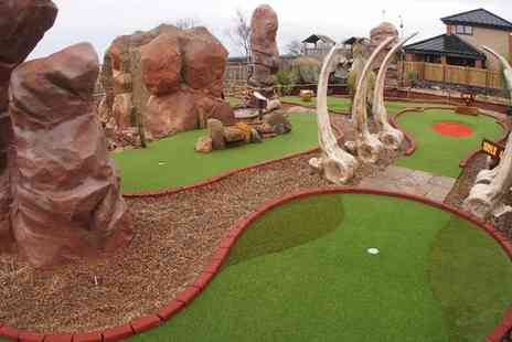 Dinosaur Encounter - Tickets to Jurassic Golf  - Save 39%