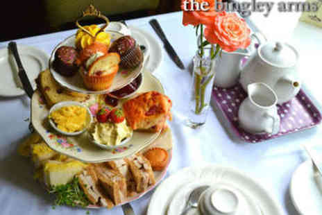 The Bingley Arms - Afternoon Tea for Two - Save 56%
