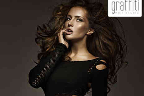 Graffiti Hair Studio - Haircut, Blow Dry, and Conditioning Treatment - Save 74%