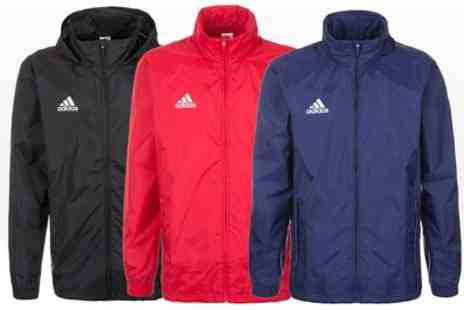Salvador Company - Adidas Core 15 Rain Jacket in Choice of Colour With Free Delivery - Save 20%