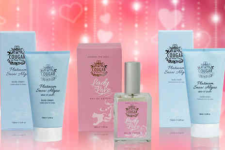 Cougar Beauty Products - Lady in Love Eau De Toilette Gift Set - Save 71%