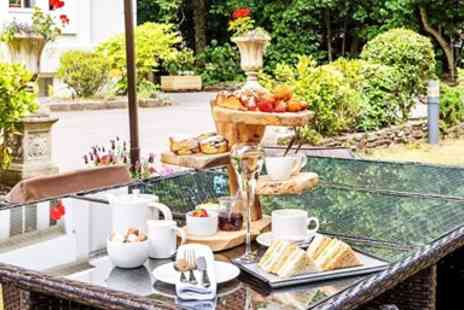 The Green House Hotel  -  Afternoon Tea & Bubbly for 2 - Save 52%