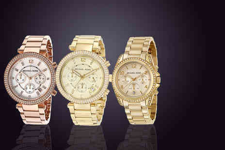 Class Watches - Ladies Michael Kors watch  - Save 48%