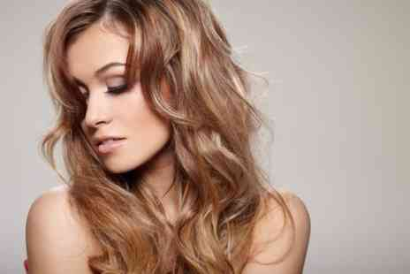 Adorez - Half head of highlights, wash, conditioning treatment and blow dry  - Save 77%