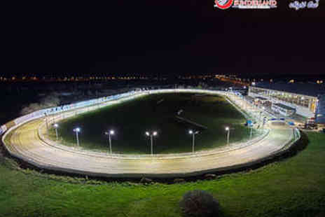 Sunderland Greyhound Stadium - Entry to Dog Racing for Two with Meal and Drinks - Save 61%