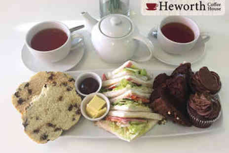 Heworth Coffee House - Afternoon Tea for Two - Save 55%