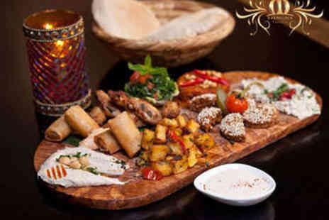Mamounia Lounge - Three Course Arabic Meal for Two with Prosecco - Save 58%