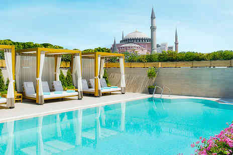 Sura Hagia Sophia Hotel  - Romantic views in Old Town Istanbul - Save 60%