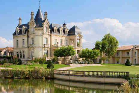 Chateau Hotel Grand Barrail - The chateau life in Bordeaux - Save 39%