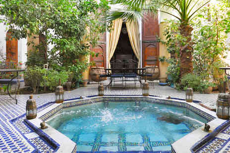 Riad le Sucrier de Fes  - A new old world of traditional culture for holiday adventure and style - Save 32%