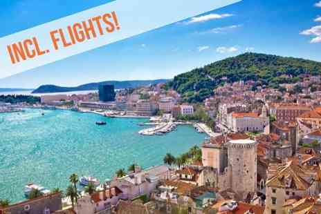 Hotel Split Inn - Three, Five or Seven nights stay with Breakfast Excursion to UNESCO World Heritage city of Trogir - Save 0%