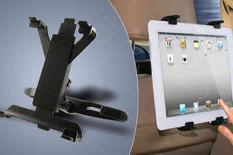 Divinity Fashion - Universal Adjustable Headrest Holder for iPads And Tablets - Save 60%
