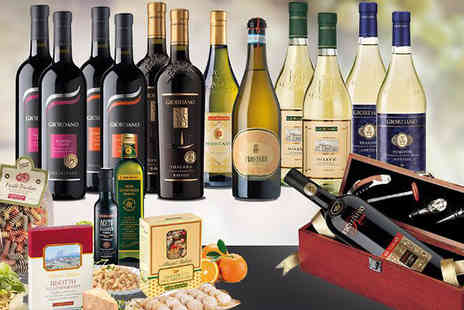 Giordano Wines - Italian Wine, Food and Gift Hamper Free Delivery- Save 59%