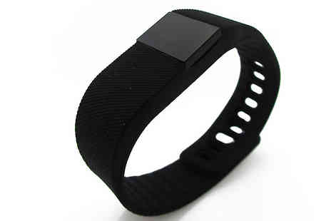 Tech Tronics - Aquarius Bluetooth Fitness and Activity Tracker - Save 74%