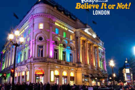 Ripleys London - Ripleys Believe It or Not Ticket  - Save 57%
