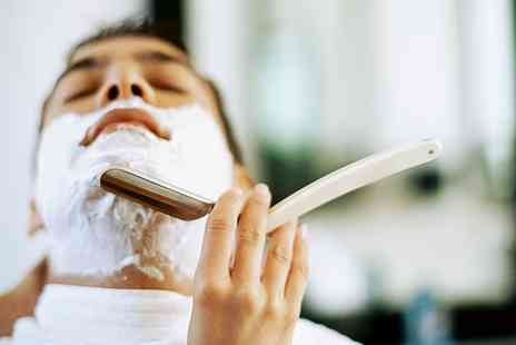 Dash Beauty - Mens Haircut and Cut Throat Shave with Optional Mini Facial  - Save 44%