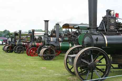 Wrotham Steam Rally - Wrotham Classic Car and Steam Rally Entry with a programme and hot or cold drink - Save 42%