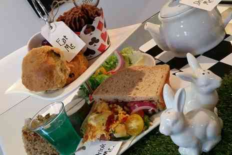 The Rabbit Hole Cafe - Alice in Wonderland Afternoon Tea for Two  - Save 0%